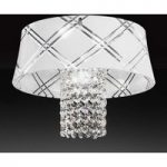 Elegant loftslampe MEDUSA 30, 1 lyskilde, guld