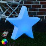 LED-dekolampe RGB Shining Star, 40 cm
