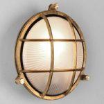 Stilfuldt designet skibsarmatur Thurso Round