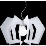 Innovativ designer hængelampe Spider, hvid