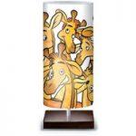 Morsom bordlampe Giraf