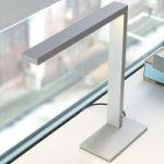 Moderne LED bordlampe Zac, fast lampearm