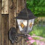 Jason – Udendørsvæglampe med rustik charme