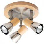 Praktisk JUNNO loftlampe med tre lys