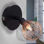 Stilfuldt designet væglampe Dalma