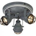 I industridesign – 3 lys. LED-loftslampe Bente