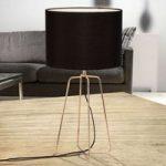 Grigory – yndefuld tekstil bordlampe