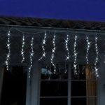 FREJA LED-lysforhæng med istapper