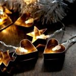 LED lyskæde Gingerbread