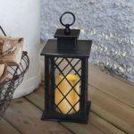 Sorte LED-dekorationslamper Jaipur Lantern