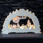 Tysk julenat – LED-lysbue i hvid