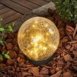 Glory – kugleformet solcelle-bordlampe