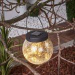 Lille solcelle-dekorationslampe Glory til at hænge