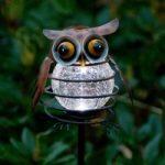Solcelle-havespyd Sicily Ugle