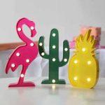 Lysende festfigurer Fruity, batteridrevne