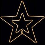Stjerne silhuet NeoLED – dekolampe til udendørs