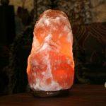 Opkvikkende CLIFF saltlampe, 18 cm