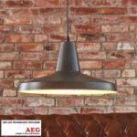 Metal LED pendellampe Marret, industriel stil