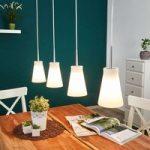 MOMO hængelampe med 4 lyskilder