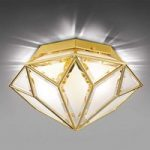 Glansfuld loftslampe Oro, 2 lyskilder