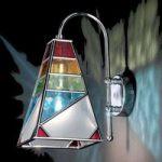 Moderne Tiffany-væglampe Tif