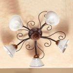 Romantisk loftlampe LIBERTY