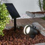 Fleksibelt anvendelig solcelle-LED-spot Soey