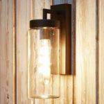 Bovolone – udendørsvæglampe i Industrial Style