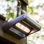 Dæmpbar LED solcelle-udendørsvæglampe Mini LEDSpot