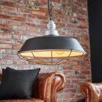 Hængelampe Bazar i industridesign