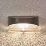 Bread – solcelle udendørsvæglampe med LED