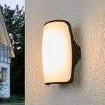 Seco – formfuldendt udendørs væglampe med LED-lys