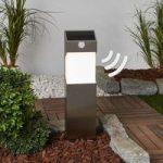 Solstel – LED-solcelle-vejlampe med sensor