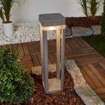 Med kontakt – LED-solcelle-vejlampe Table Cube