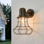 Antikt designet udendørsvæglampe Bird