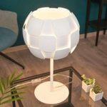 Nectar – hvid bordlampe af plast