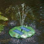 Seerose – flydende solcellepumpe