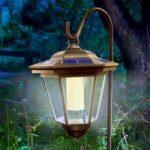 Solcelledrevet TIVOLI LED-lanterne
