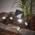 Quattro Power solcellespot-sæt