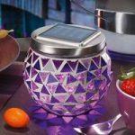 Solcelle mosaiklampen Hanna