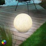 Mega Stone 30 – moderne solcelle LED lyskugle