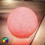 Mega Stone 50 – moderne solcelle LED lyskugle
