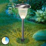 LED solcellelampe Flower Light Duo Color funktion