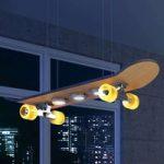 Light Cruiser – LED-pendellampe i skateboard form