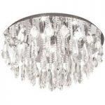 Calaonda krystal loftslampe rund