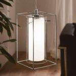 Moderne pendellampe Loncino af glas