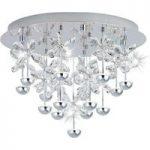Rigt udsmykket LED krystal hængelampe Pianopoli
