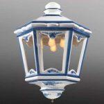 Stor, lanterneformet hængelampe Solene