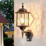 WEXFORD robust udendørs væglampe med sensor