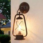 MINERS udendørs væglampe i grubelampestil